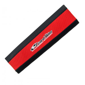 Lizzardskins Chainstay Protector Neopreen Medium - Rood