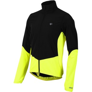 Pearl Izumi Jack Select Thermal Barrier Zwart/Geel - L