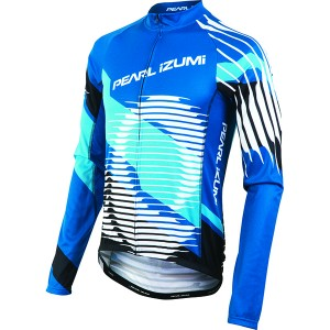 Pearl Izumi Shirt Elite Thermal LTD Blauw - Maat XXL