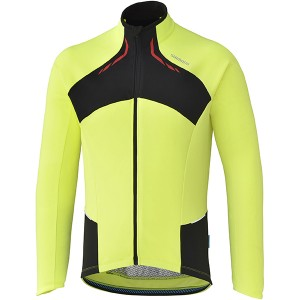 Shimano Shirt Thermal Winter LM Geel - Maat XXL