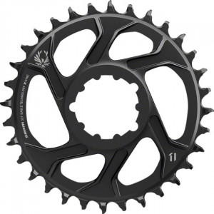 Sram Kettingblad X-Sync 44T 7mm Offset 11V steek 110 - Zwart