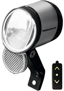 Trelock Koplamp Led Bike-i Prio - Zilver Afstandsbediening