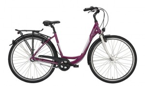 Victoria Urban 1.3 Damesfiets 28 Inch 50cm 3V - Rood/Wit