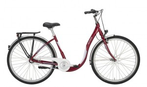 Victoria Urban 1.9 Lage Instap Fiets 46cm 3V Rood/Wit
