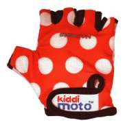Kiddimoto Handschoenen Red Dotty Small