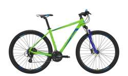Conway MTB MS 429 29 Inch 56cm 24V - Mat Lime/Blauw