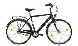 Excelsior Road Cruiser Alu ND Heren 28 Inch 55cm 3V - Zwart