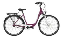 Victoria Urban 1.4 Damesfiets 26 Inch 45cm 3V - Rood/Wit