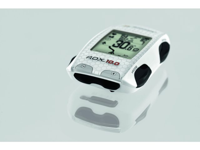 Sigma Fietscomputer Rox 10.0 GPS Ant+ Wit