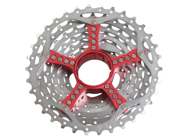 Sram PG-990 9-Speed Cassette 11-34 (Rode Spider)