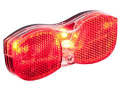 Axa Rear Light City Batteries On/Out 50/80mm
