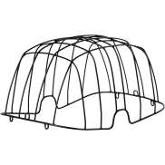 Basil Buddy Wire Dome For Buddy Pet Basket - Black