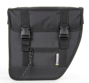 Basil Double Pannier Tour Black