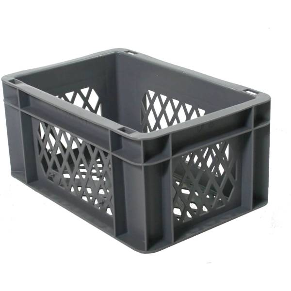 Bicycle Crate Mini - 30 x 20 x 14.5cm - Gray