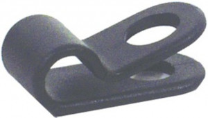 Cable Clamp 856 Ø5mm Frame Assembly 1-Fold - Black