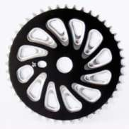 Chainring 44Tands Freestyle Black