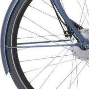 Cortina Front Fender Stay 28 Inch E-U1 - Matt Pearl Blue