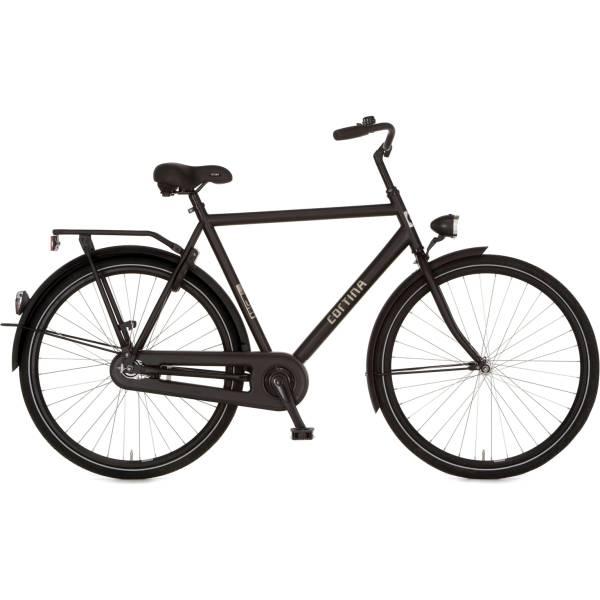 Buy Cortina U1 Men S Bike 61cm Brake Hub Matt Black At Hbs