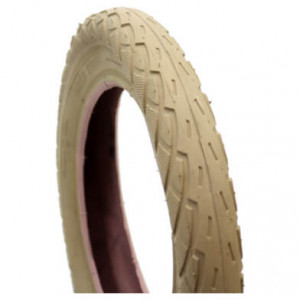 Deli Tire - Tire S-206 12 1/2 x 2 1/4 - Cream