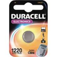 Duracell Battery CR1220 / DL1220 3V Lithium