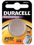 Duracell Battery CR2430 Lithium 3V