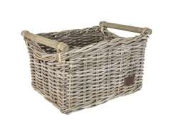Fast Rider Bamboo Bicycle Basket - Natural