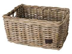 FastRider Bicycle Basket Without Mounting Natural Gray