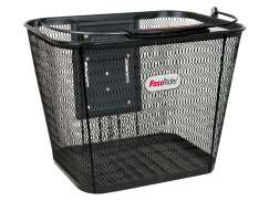 FastRider Borre Luxury Basket Detachable Klickfix  - Black