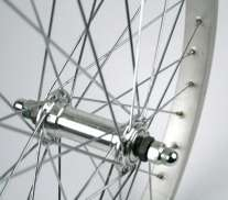 Front Wheel 20X1.75 Alu Rim 32Mm