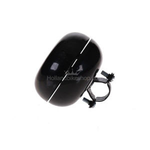 HBS Bicycle Bell Ding Dong Large Black