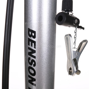 HBS Bicycle Pump Classic Silver