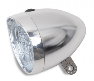 HBS Headlight Classic Oma 5 LED - Chrome