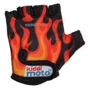Kiddimoto Gloves Flames Medium