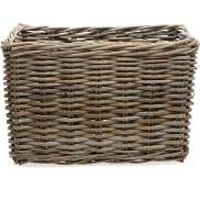New Looxs Bicycle Basket Brisbane Large 39L - Gray