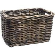 New Looxs Bicycle Basket Brisbane Wicker Large Brown