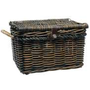 New Looxs Bicycle Basket Melbourne Wicker Large Brown