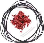 Nokon Extension Set KON51 1m Outer Cable / 2m Liner Red