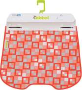 Qibbel Windscreen Flap Checker Red