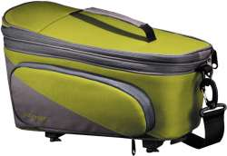 Racktime Talis Plus Luggage Carrier Bag 8L Snap-It - Green