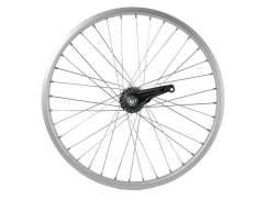 Rear Wheel 20 x 1.75 Shimano Brake Hub AS26F Alu Solid Axle