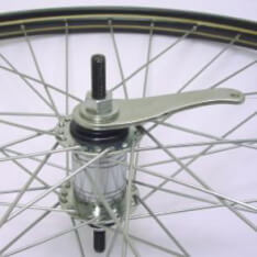 Rear Wheel 28X 1 1/2  Black