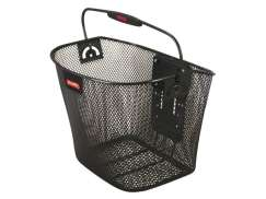 Rixen & Kaul Klickfix Uni Bicycle Basket Black