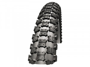 Schwalbe Bicycle Tire 20X1.75 Mad Mike Bmx Black