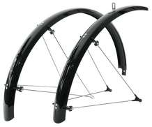 SKS Bicycle Fender Set 28 Inch / 35mm PVC Race Black