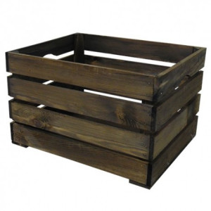 Wicked Bicycle Crate Wood Large - 43X35x27cm