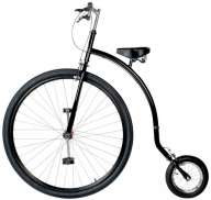 "Qu-Ax Gentlemen Bike 36"" / 12"" Negro Velocipede"