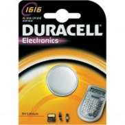 Duracell Paristo CR1616 / DL1616 3V Litium
