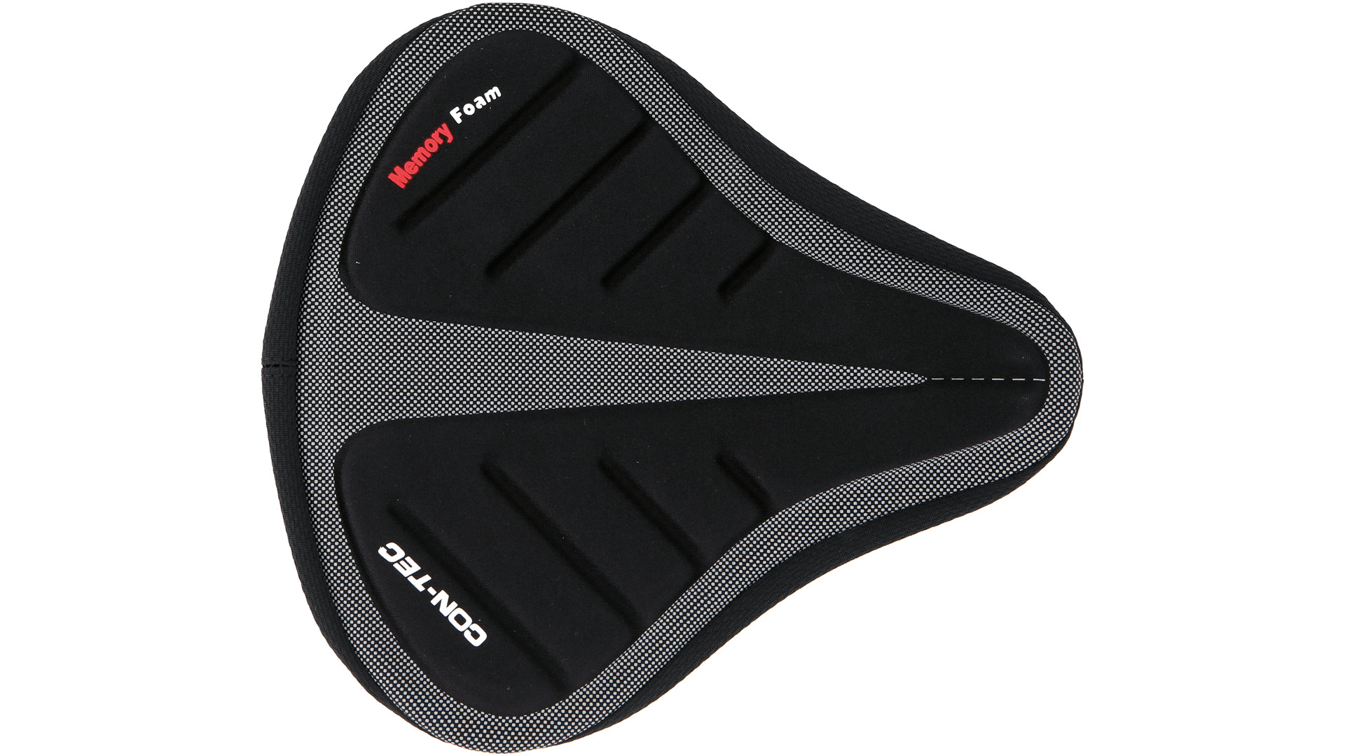 Contec Zadelovertrek Top Seat Foam tbv. Tourzadel  Zw./Grijs