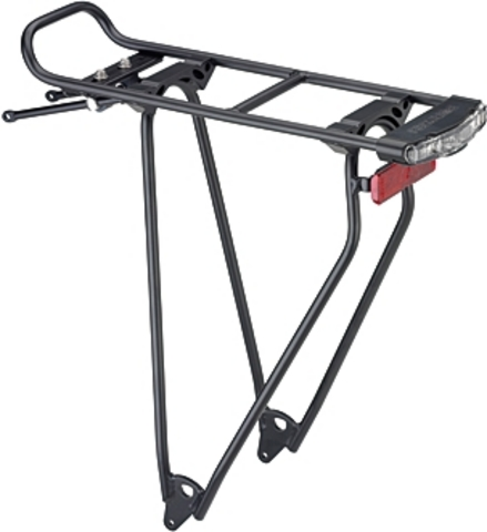 Racktime Bagagedrager Stand-It Shine 28 Inch Alu Zwart
