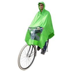 Hooodie Poncho One-Size-Fits-All Groen